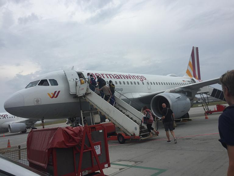 «Из немецко-итальянских записок..». Часть 5: Гамбург - Милан с Eurowings: нелётная погода и первый провал