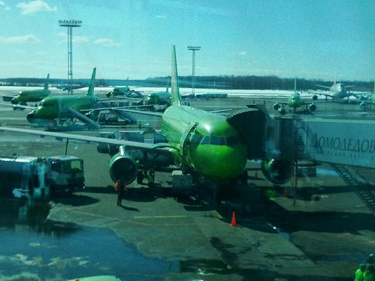 Отлично долетели с S7: Екатеринбург-Москва-Краснодар, часть 1.