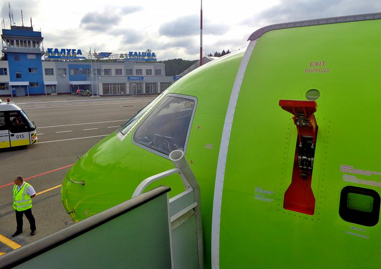 Фотообзор аэропорта Калуга Грабцево