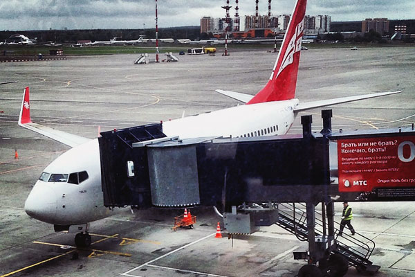 Рейс Москва-Тбилиси Georgian airways