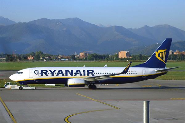 5 полётов по 3 странам Европы с RYАNAIR