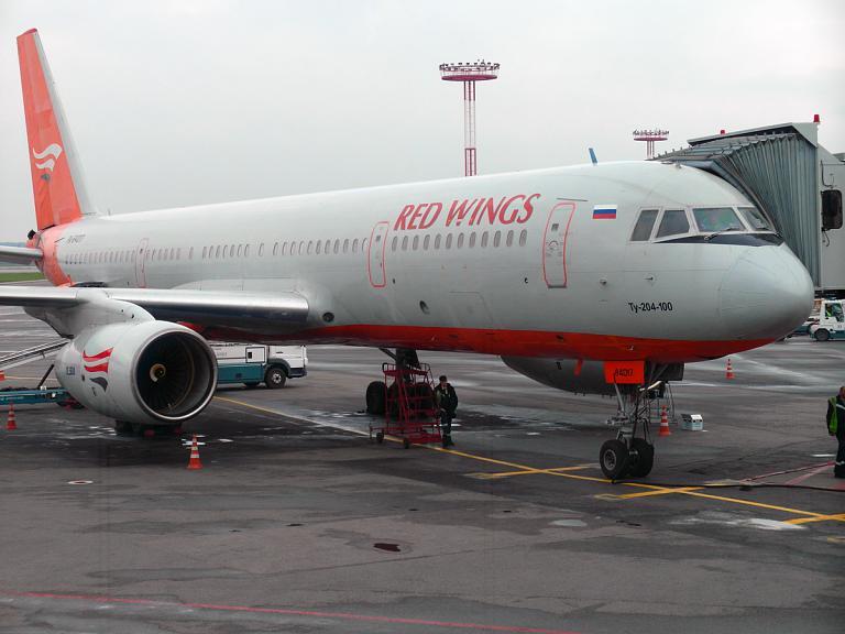 Уфа - Москва (DME) с Красными крыльями