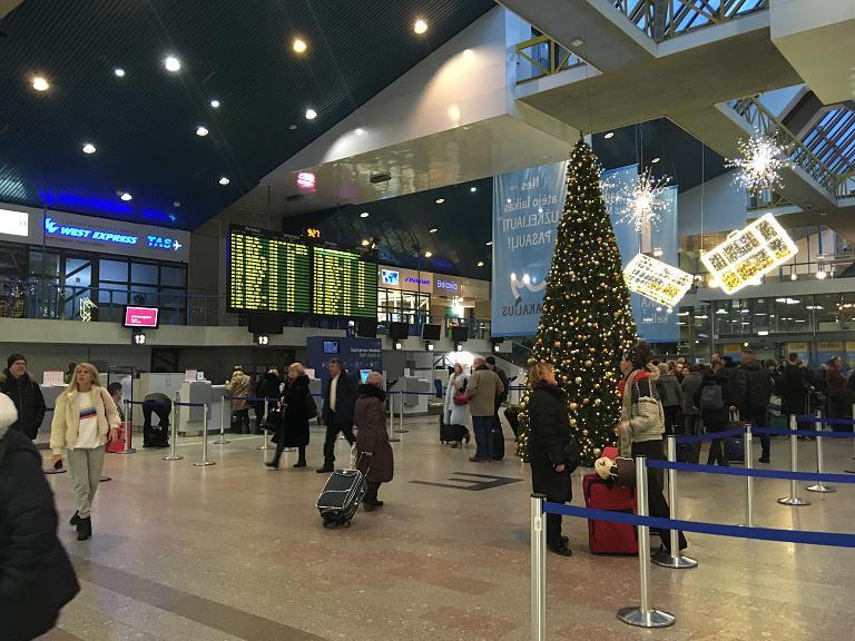 Вильнюс - Киев по необычному маршруту и новый экспресс в Борисполе