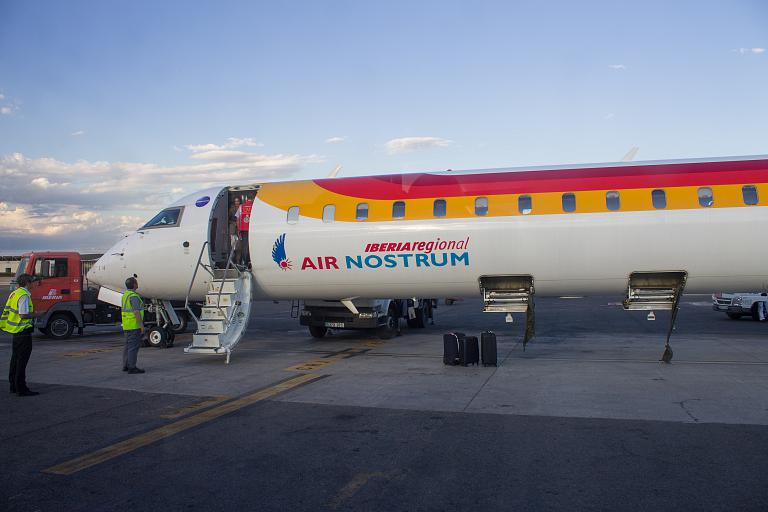 Валенсия - Мадрид с Air Nostrum