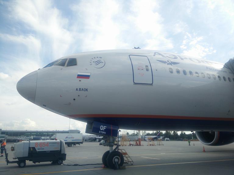 Обзор рейса SU1730 а/к Аэрофлот по маршруту Москва (SVO)-Петропавловск-Камчатский (PKC) Boeing 777-300er VQ-BQF Александр Блок