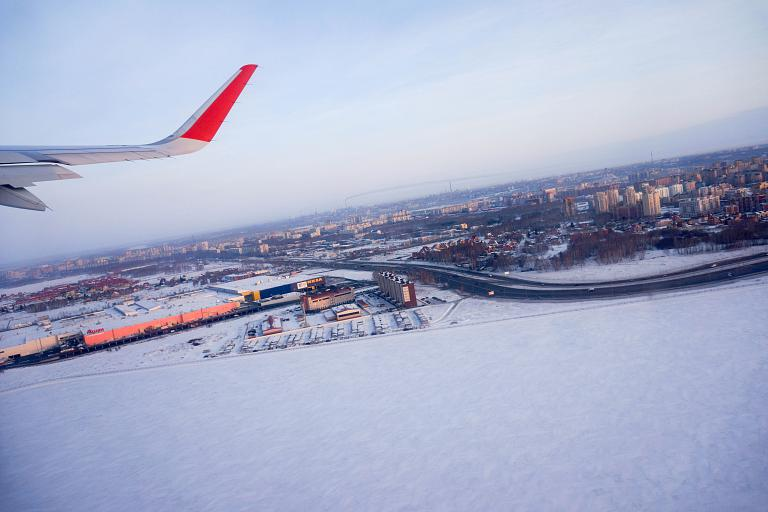 Омск-Москва-Владивосток Аэрофлотом. Часть первая: Омск-Москва, Airbus A320, VP-BLP, А. Попов.