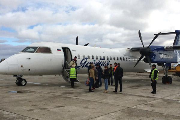 Фотообзор полета на самолете Bombardier Dash 8 Q400