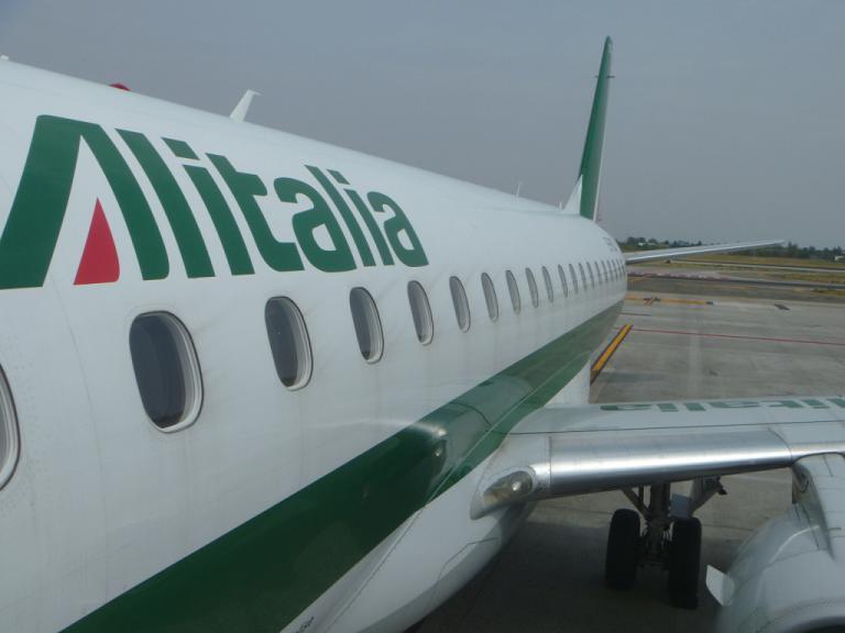 Европейский voyage. Часть 3. Болонья - Рим (FCO T1) на Embraer ERJ-175 Alitalia CityLiner.