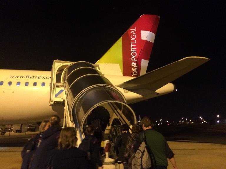 Перелет Лиссабон - Москва с TAP Portugal