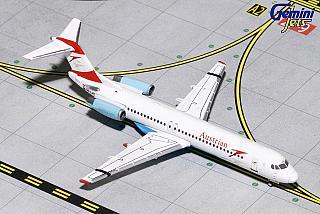 Модель самолета Fokker 100
