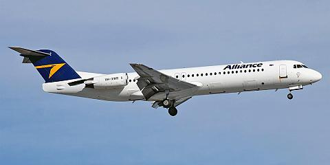 Fokker 100 - commercial aircraft. Pictures, specifications, reviews.