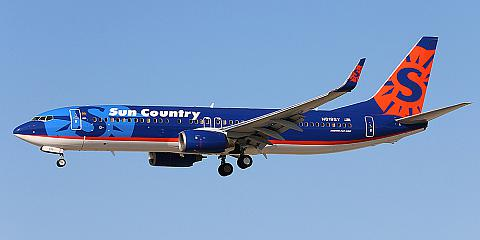 Sun Country Airlines. Airline code, web site, phone, reviews and opinions.