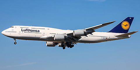 Boeing 747-8 - пассажирский самолет. Фото, характеристики, отзывы.