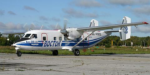 Antonov An-38 - commercial aircraft. Pictures, specifications, reviews.
