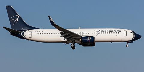 Blue Panorama Airlines. Airline code, web site, phone, reviews and opinions.