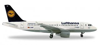Модель самолета Airbus A319