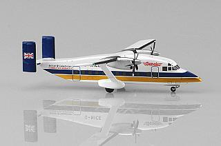 Модель самолета Shorts 330