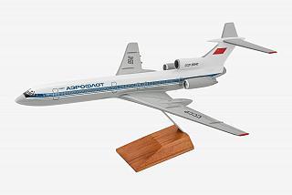 Модель самолета Туполев Ту-154