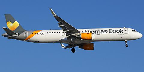 Thomas Cook Airlines. Airline code, web site, phone, reviews and opinions.