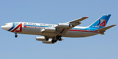 Ilyushin Il-86 - commercial aircraft. Pictures, specifications, reviews.