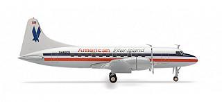 Модель самолета Convair CV-440 Metropolitan