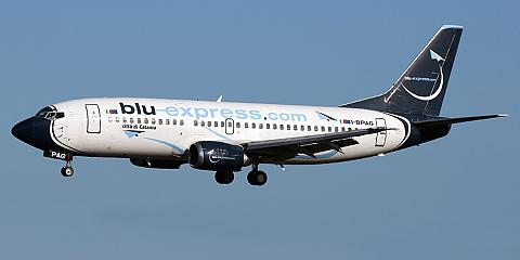 Blu-Express. Airline code, web site, phone, reviews and opinions.