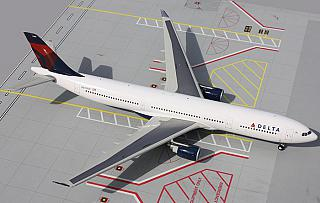 Модель самолета Airbus A330-300