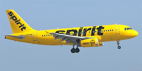 Spirit Airlines. Airline code, web site, phone, reviews and opinions.