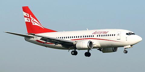 Авиакомпания Georgian Airways (Грузинские авиалинии)