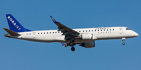 Borajet. Airline code, web site, phone, reviews and opinions.