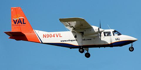 Britten-Norman BN-2 Islander - commercial aircraft. Pictures, specifications, reviews.
