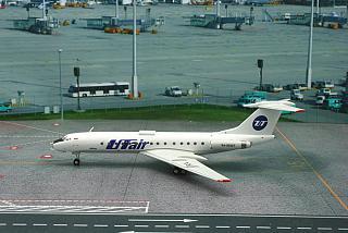 Модель самолета Туполев Ту-134