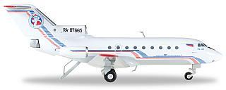Модель самолета Яковлев Як-40