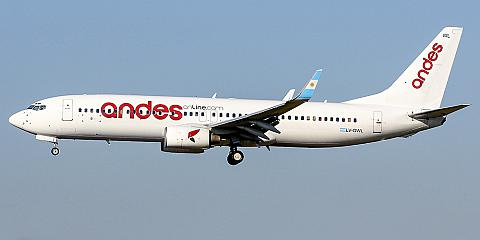 Andes Lineas Aereas. Airline code, web site, phone, reviews and opinions.