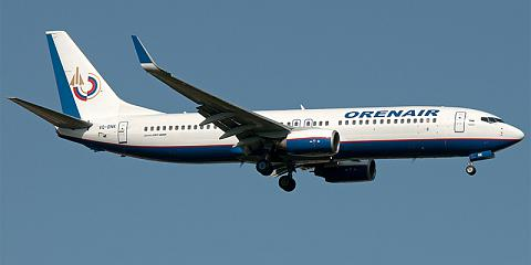 Orenair. Airline code, web site, phone, reviews and opinions.
