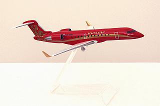 Модель самолета Bombardier CRJ100