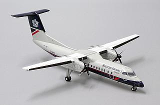 Модель самолета Bombardier Dash 8 Q300