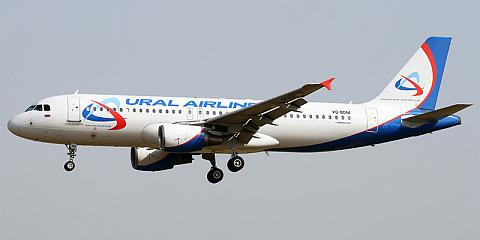 Ural Airlines. Airline code, web site, phone, reviews and opinions.