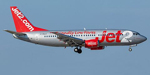 Jet2.com. Airline code, web site, phone, reviews and opinions.