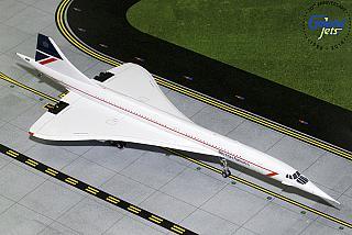 Модель самолета Concorde