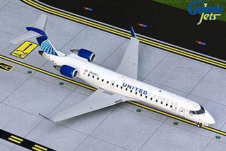 Модель самолета Bombardier CRJ550