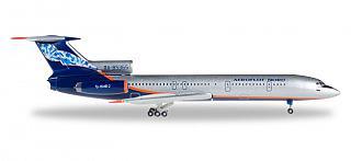 Модель самолета Туполев Ту-154Б-2