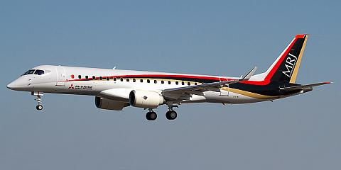 MRJ - Mitsubishi Regional Jet - commercial aircraft. Pictures, specifications, reviews.