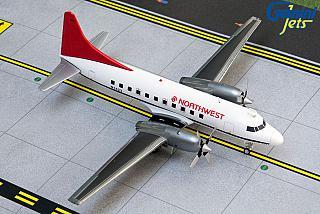 Модель самолета Convair 580