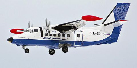 Let L-410 - пассажирский самолет. Фото, характеристики, отзывы.