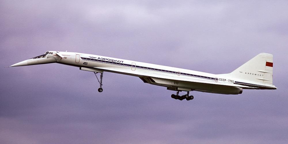 Туполев Ту-144- пассажирский самолет. Фото, характеристики, отзывы.