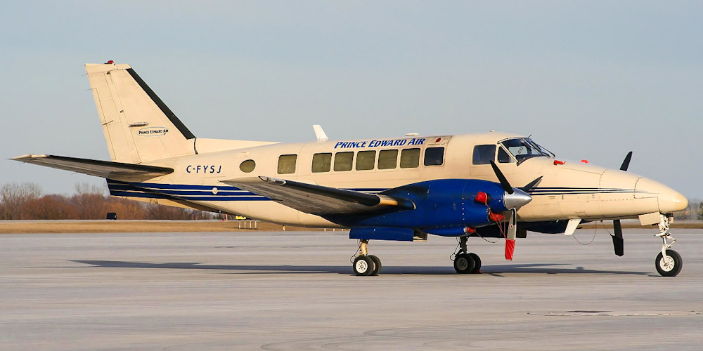 Beechcraft 99- passenger aircraft. Photos, characteristics, reviews.