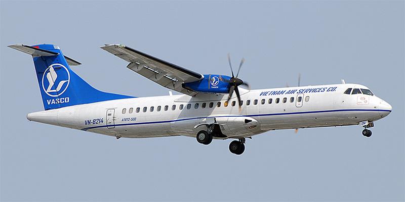 Самолет ATR 72 авиакомпани VASCO