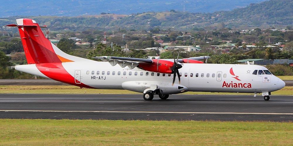 Самолет ATR 72 авиакомпании Avianca Honduras