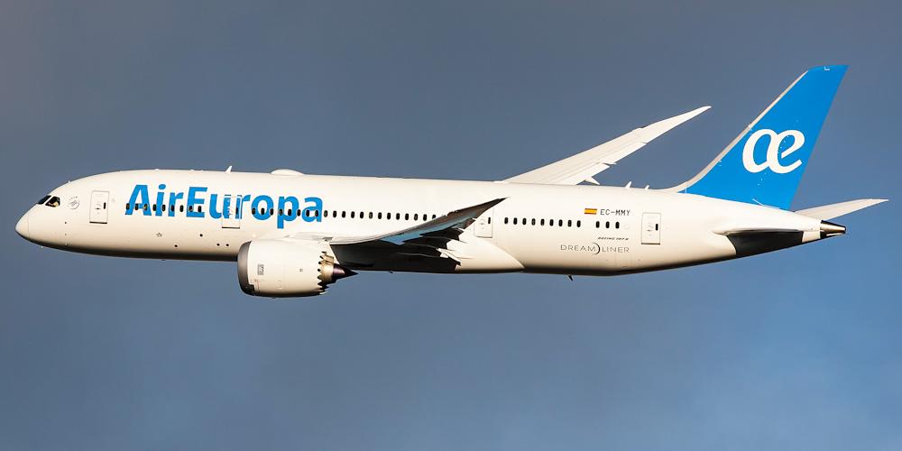 Боинг-787-8 авиакомпании Air Europa